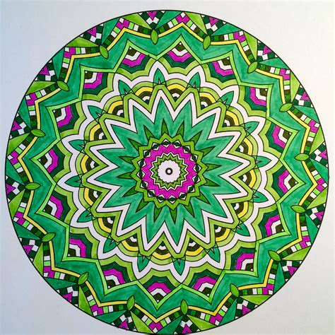 colored mandala book review coloring to calm volume 1 mandalas by shelly