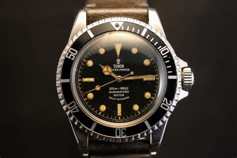 Analog/Shift ? tudor submariner 7928 gilt dial pcg
