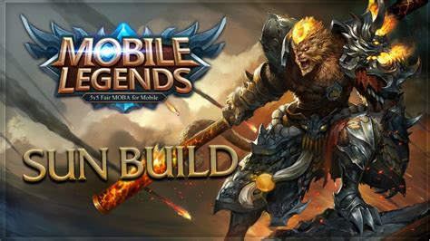 mobile legend build mobile legends sun unstoppable build