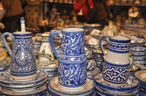 marokkanische keramik pottery fez morocco fascinated by the arab world