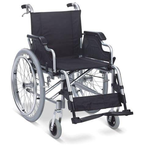 Kursi Roda self propelled folding aluminium wheelchair relimobility