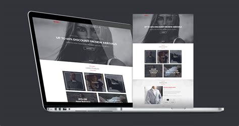 brandly free psd website template blazrobar com