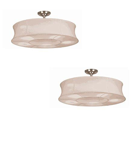 ceiling fan no downrod set of two no lp8075lbn sun valley 30 in brushed
