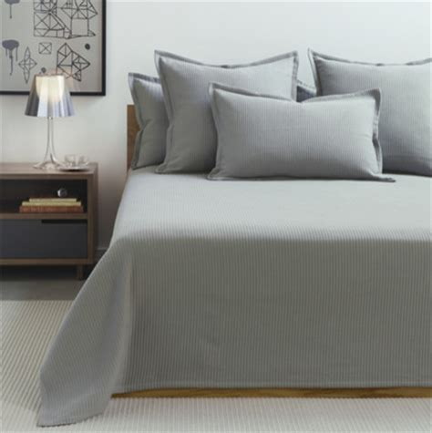 modern coverlets for beds unison fulton matelasse coverlets and shams pewter