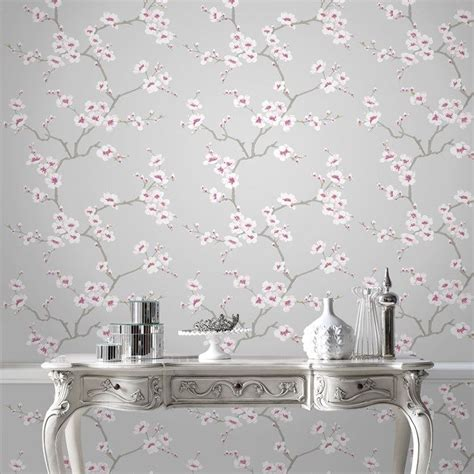 blossoms bedroom 25 best ideas about pink and grey wallpaper on pinterest