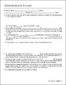 commercial rental contract template printable sle free lease agreement template form real