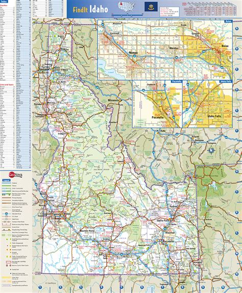 utah state wall map by globe turner idaho state wall map by globe turner
