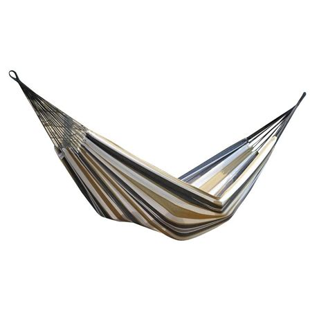 vivere 11 ft cotton single hammock in desert