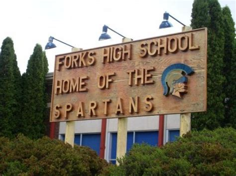 forks high school home of the spartans picture of