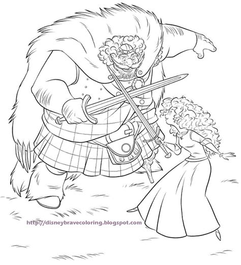 disney coloring pages brave disney coloring pages