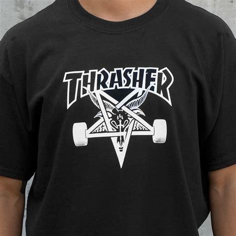 T Shirt Surf And Skate High Quality 1 thrasher magazine sk8goat black t shirt medium