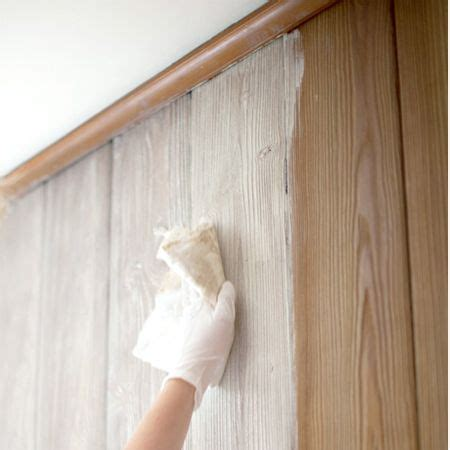 how to make wood paneling work how to whitewash knotty pine walls wonder if this would