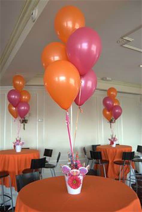 Balloon Stick Centerpieces For Outdoor Party So Wind Won T Balloons On Sticks Centerpiece