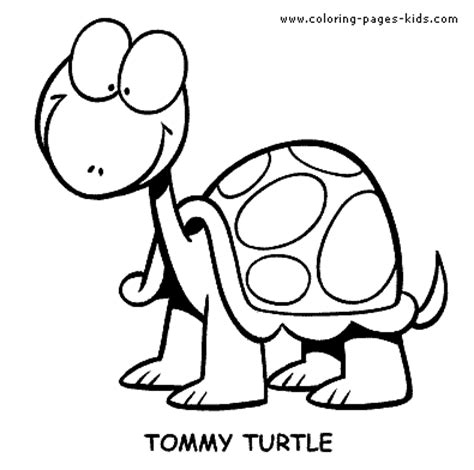 happy turtle coloring page happy turtle color page