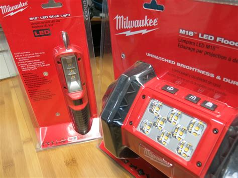 Milwaukee Led Light by Milwaukee Work Light Review Including The M12 Stick