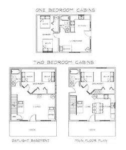 two bedroom cottage floor plans also small cabin log home with loft cabins