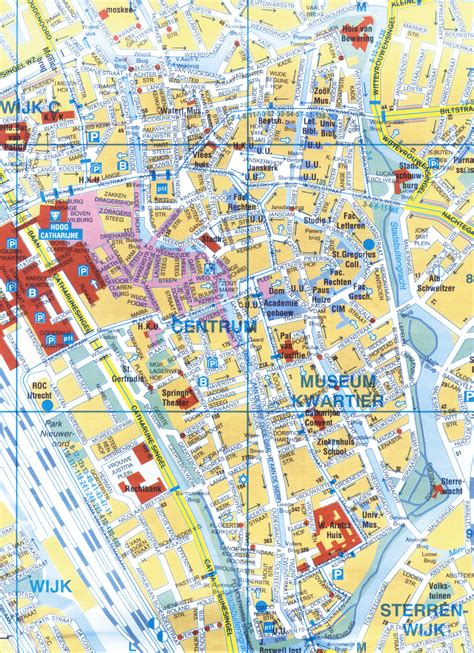 netherlands attractions map maps update 700714 the hague tourist map 12 top