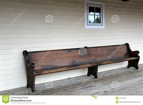 old bench old wood bench on weathered porch stock image image