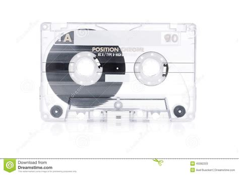cassetta musica cassette stock photo image 45092203