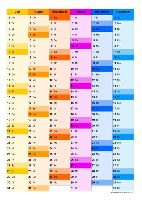 Kalender 2016 Druckformat Kalender 2019 Zum Ausdrucken