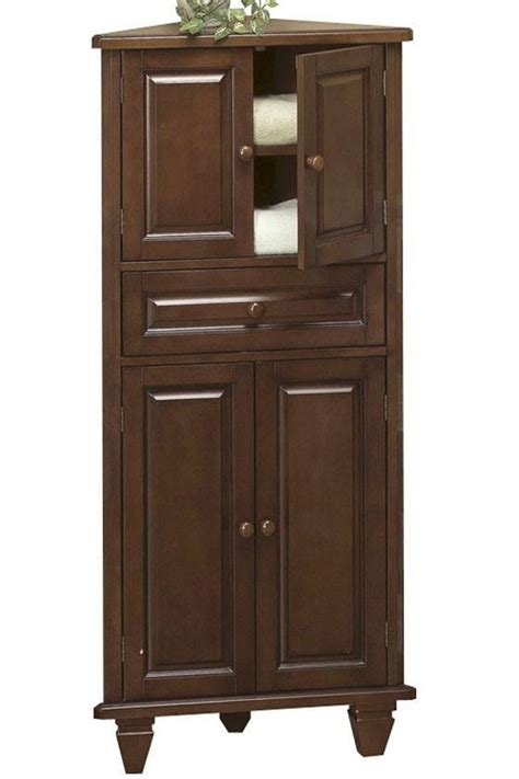 bathroom corner linen cabinet corner bathroom cabinet for linen useful reviews of