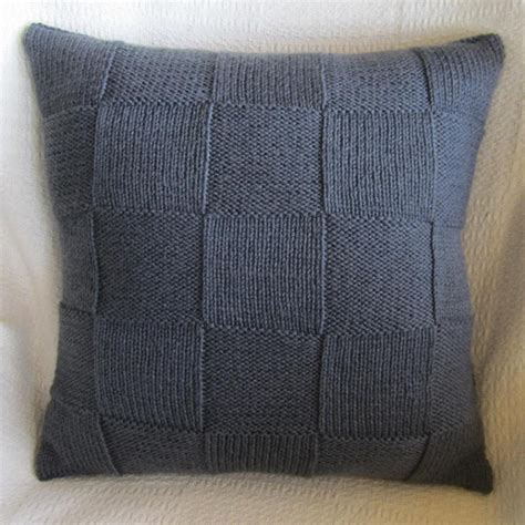Knit Pillow Pattern geometric cushion decorative knit pillow geometric