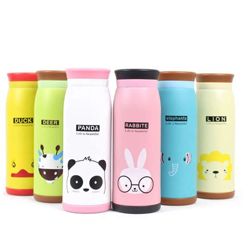 Vacuum Bottle Shuma Termos Travelling Ukuran 350ml child thermal bottles insulation thermos bottle stainless steel thermocup office travel