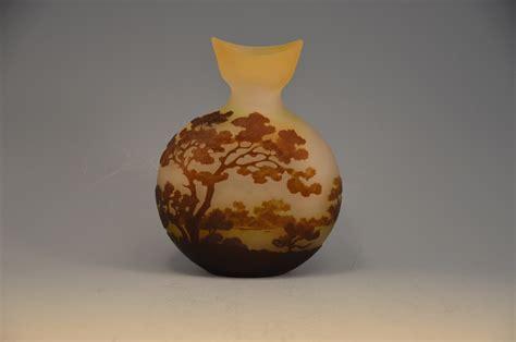 emile galle vase emile galle landscape cameo vase nouveau c 1904