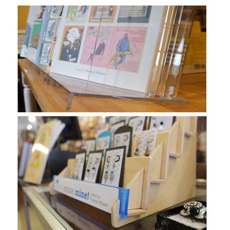 card display greeting card holders rack and displays from clear solutions