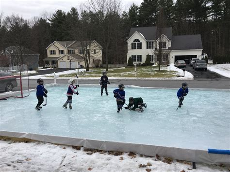 how to make an ice rink in your backyard how to build a backyard skating rink outdoor goods