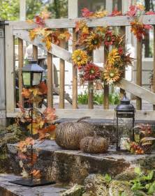 fall decorations for outside the home get a jump start on fall decor porter s craft amp frame