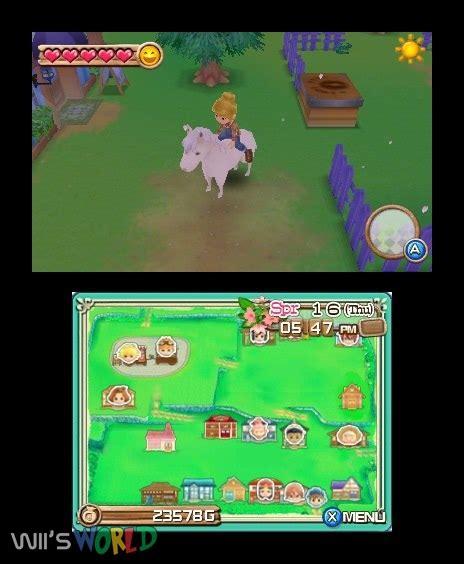 Kaset Harvest Moon 3d A New Beginning 3ds harvest moon 3d a new beginning on 3ds