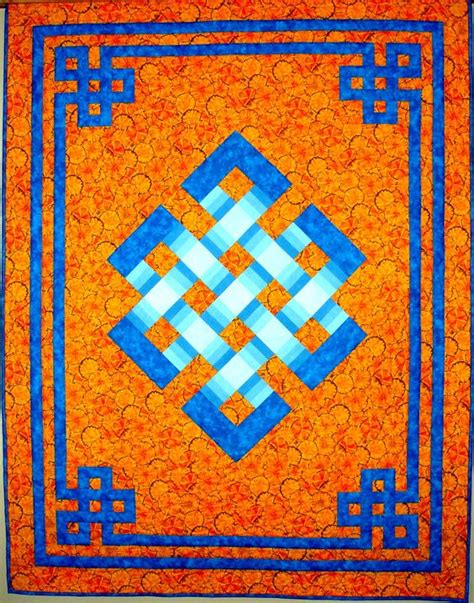 Celtic Quilts by Gateway To Mongolia From A Workshop With Maggie