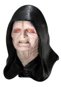 deluxe darth sidious emperor palpatine mask star wars
