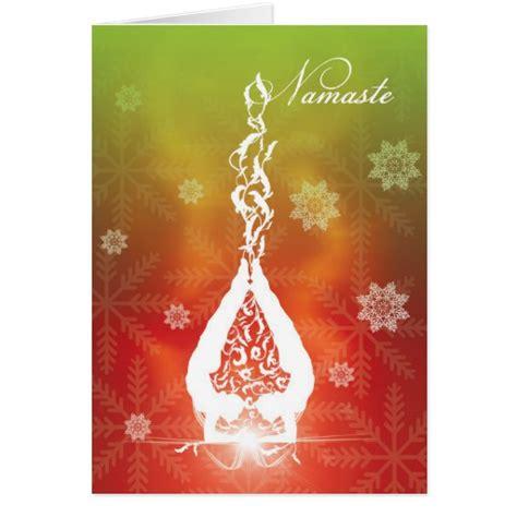 images of christmas yoga card christmas yoga zazzle