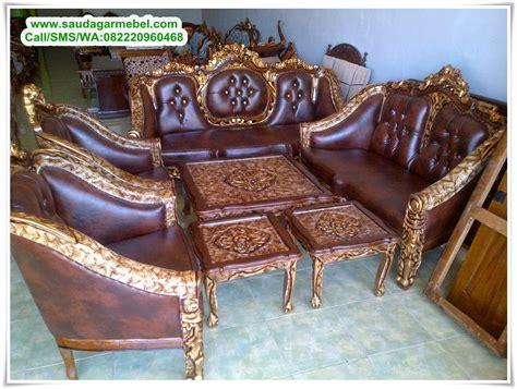 Kursi Tamu Jati Ganesha mebel jakarta kursi sofa ganesha royal saudagar mebel