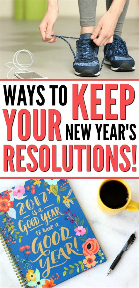 8 Ways To Keep Your New Years Resolutions by 5 Ways To Actually Keep Your New Year S Resolutions