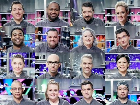 Cutthroat Kitchen Contestants List by Meet The Chefs Competing In The Cutthroat Kitchen Time Warp Tournament Cutthroat Kitchen