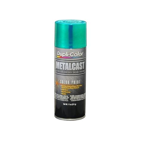 dupli color 174 metalcast paint green anodized
