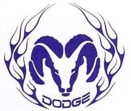 history of all logos all dodge logos