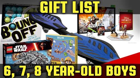 great boys 7 year christmas goft best gifts for boys ages 6 8 2017