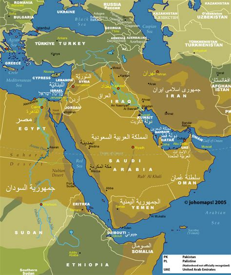 middle east map key middle east physical map with key www pixshark