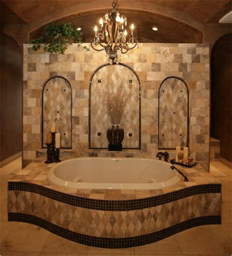 Tuscan Bathroom Design by Key Interiors By Shinay Tuscan Bathroom Design Ideas