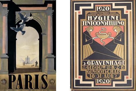 Home Decoration Paintings by The Irresistible Nature Of An Art Deco Poster Widewalls