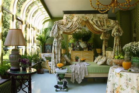 Garden Bedroom Decor Winter Garden With Rich Interior Decor Idesignarch Interior Design Architecture