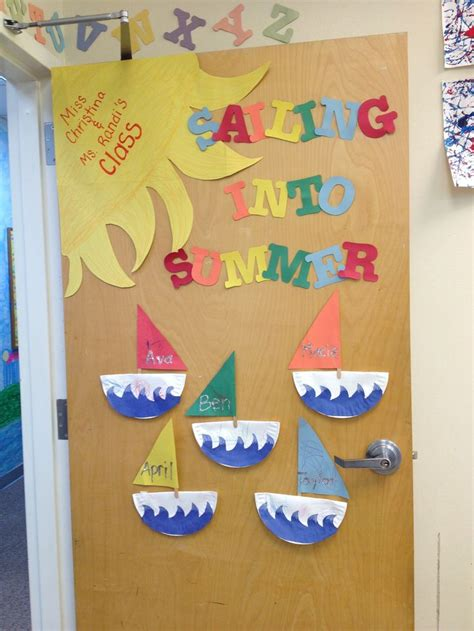 summer classroom decorating ideas classroom decor my summer classroom door preschool ideas pinterest