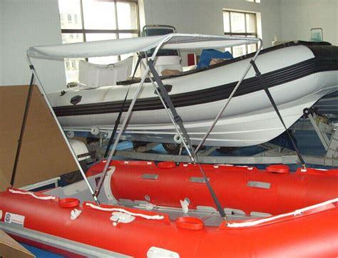 inflatable boat bimini inflatable semi rigid bimini top rib canopy aluminium
