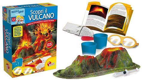 gioco da tavolo per bambini giochi in scatola per bambini scopri il vulcano
