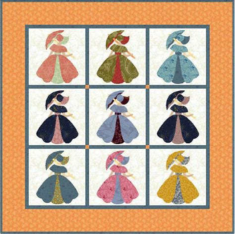 quilt pattern girl with umbrella 17 best images about southern belle quilts on pinterest