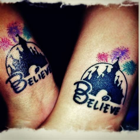disney castle tattoos designs disney castle believe tattoos and piercings